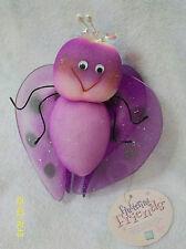 Russ Fluttering Friends Purple Butterfly - Hangs Up
