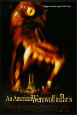 AN AMERICAN WEREWOLF IN PARIS 27x40 D/S Original Movie Poster One Sheet 1997