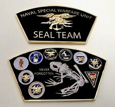 USN NAVY SEALS SEAL TEAM 6 BONE FROG NSW CHALLENGE COIN NON CPO CHIEF MESS NYPD