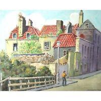 Signed Retro Original Watercolour Paintings Bristol c/w Horse on Beach Holloway
