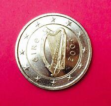 Erste 2 Euro Kursmünze IRLAND 2002 - Harfe - Euromünzen prägefrisch