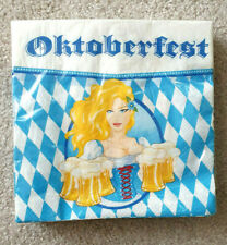 Servietten Oktoberfest Herbst Brotzeit 20 St  33x33 cm  Neu