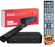 Mag522W1 BuiltIn WiFi 4K linux 4K + Free Extra  Bonus Remote Control