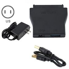 """Adapter Cable Converter USB 3.0 To SATA 12V Power Supply for 2.5"""" 3.5"""" HDD"""