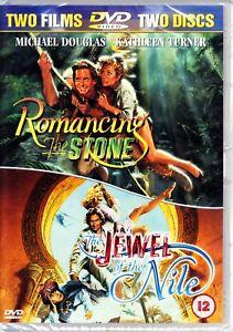 ROMANCING THE STONE / JEWEL OF THE NILE DVD  2 DISCS REGION 4  MICHAEL DOUGLAS