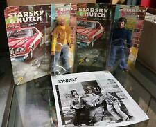 Vintage Mego Starsky and Hutch Figures Sealed w/ promotional photo!