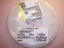 QTY (4000) 220pf 50V 10% 0603 X7R SMD CERAMIC CAPACITOR NMC0603X7R221K50TRP NIC