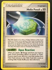 Carte Pokemon HELIX FOSSIL HP50 93/99 Commune Platine ARCEUS English NEUF