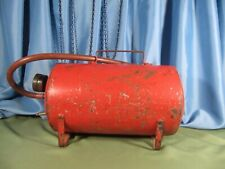 Acme Antique Air Compressor Tank Red In Color