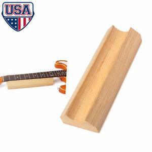 Guitar Neck Fingerboard Fretboard Rest Holder Supporter U-block Luthiers Tool US