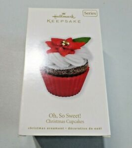 Hallmark Keepsake Ornament Oh So Sweet! Christmas Cupcakes 1st In Series NEW