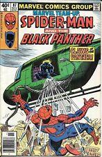 Marvel Team-Up #87 - Spider-Man Black Panther 1st App Hellrazor