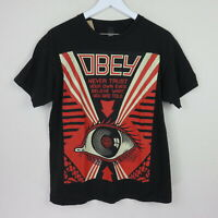 Obey Never Trust Your Own Eyes T Shirt - Men's M