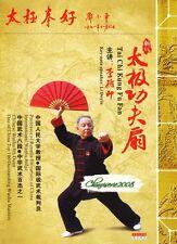 Chinese Wushu & Kongfu Taijiquan Taiji TaiChi Kung Fu Fan by Li Deyin DVD