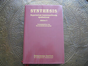 Repertorium homoeopathicum syntheticum Edition 7, Frederik Schroyens neuwertig