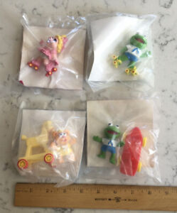 GROUP LOT MCDONALDS FAST FOOD TOY MUPPET BABIES HAPPY MEAL CAR NEW SEALED