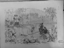 1886 Cirque Neue Pantomime ♥ Baby Body ♥ Süße Numero Balance-Akt Wasserski
