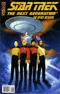 Star Trek: The Next Generation: The Space Between #4/A NM 2007 IDW Painted Cover