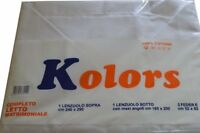 ST SHEETS single and DOUBLE COTTON ITEM KOLORS