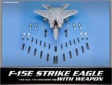 Academy 1/48 F-15E STRIKE EAGLE with Weapon 12264 NIB Military Plastic Model Kit