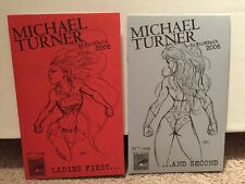 Michael Turner Sketchbook 2006 Ladies First And Second 357/600
