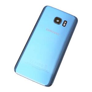 Coral Blue Original Back Plate For Samsung Galaxy S7 Edge SM-G935F