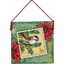 Counted Cross Stitch Kit WISH ORNAMENT Dimensions Gold Collection
