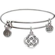 Bangle Bracelet and Open Celtic Knot - USA Made - BBandJT179