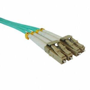 1m-30m OM4 50/125 Fibre Optic LC-LC Duplex Patchlead LSZH Cable Patchcord lot