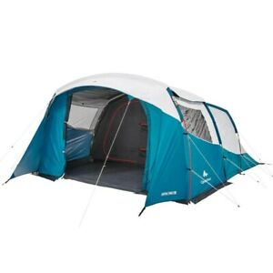 Tent Family Outdoor Trekking Camping Tents with Poles 5 Person 2 Bedrooms