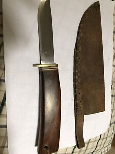 Vintage Brusletto knife, made in Norway