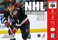 NHL Breakaway 98 Nintendo 64 N64 Game Used