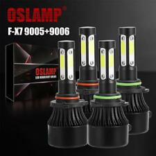 OSLAMP 9005+9006 1400W 140000LM Combo 4 Sides LED Headlight High Low Beam Bulbs