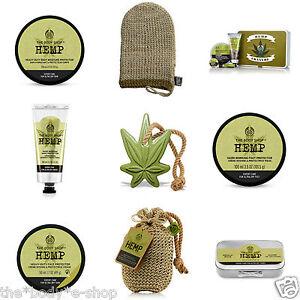 Body Shop~ HEMP Body Protectors~ Heavy-duty Dry Skin Hydration~ Restore Moisture