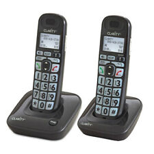 Clarity D703 and (1) D703HS Moderate Hearing Loss Cordless Phone