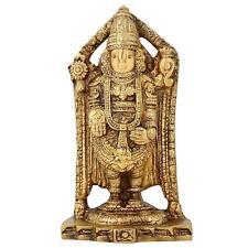 Statue Decor Hinduism Symbol Balaji Venkateswara For Temple Puja Mandir 6.5 Inch