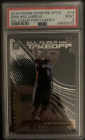 2019-20 DONRUSS OPTIC ZION WILLIAMSON ALL CLEAR FOR TAKEOFF ROOKIE RC PSA 9 🔥📈