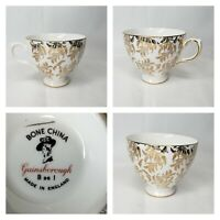 Bone China Gainsborough White And Gold B 96 1 Made In England Tea Cup