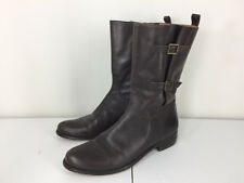 Corso Como 7 Brown Leather Riding Boots Excellent Nordstrom
