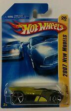 Hot Wheels 2007 New Models Buzz Bomb NIB 26/36 Clear Yellow With Black