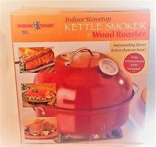 Nordic Ware Indoor Stovetop Kettle Smoker & Wood Roaster - Open Box