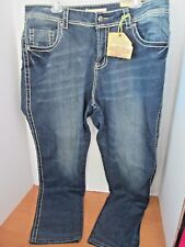 VIGOLD~Medium Wash  STRETCH SKINNY BLUE JEANS~Women's 20~NWT