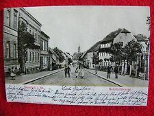 Vecchia cartolina cartolina V. Neustadt i. sa. - Bahn cortile segmento-molto bene - 3d