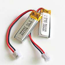 2 pcs 3.7V 180mAh JST 2.0mm LiPo Polymer Battery For Mp3 GPS Bluetooth 501235