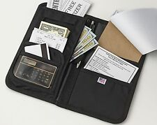 NEW Top-Rated iServ Deluxe Waiter Book Wallet Organizer - Made in the USA -