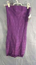 French Connection Sleeveless Tube Top Bandage Dress Purple sz 0 NWT