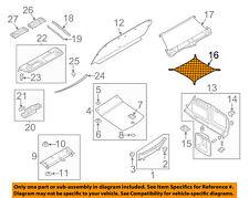 AUDI OEM 02-16 A4 Quattro Interior-Rear-Cargo Net 8E5861869AMRY