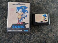 Sonic the Hedgehog Sega Mega Drive MegaDrive Games Boxed