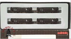 Z 1:220 scale Märklin model trains Set freight cars 82590 USA