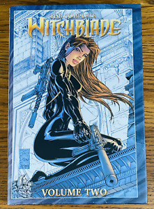 THE COMPLETE WITCHBLADE HARDCOVER BOOK 2 RARE PROMO COVER SIGNED MARC SILVESTRI
